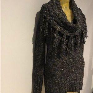 Kensie cowl neck sweater M